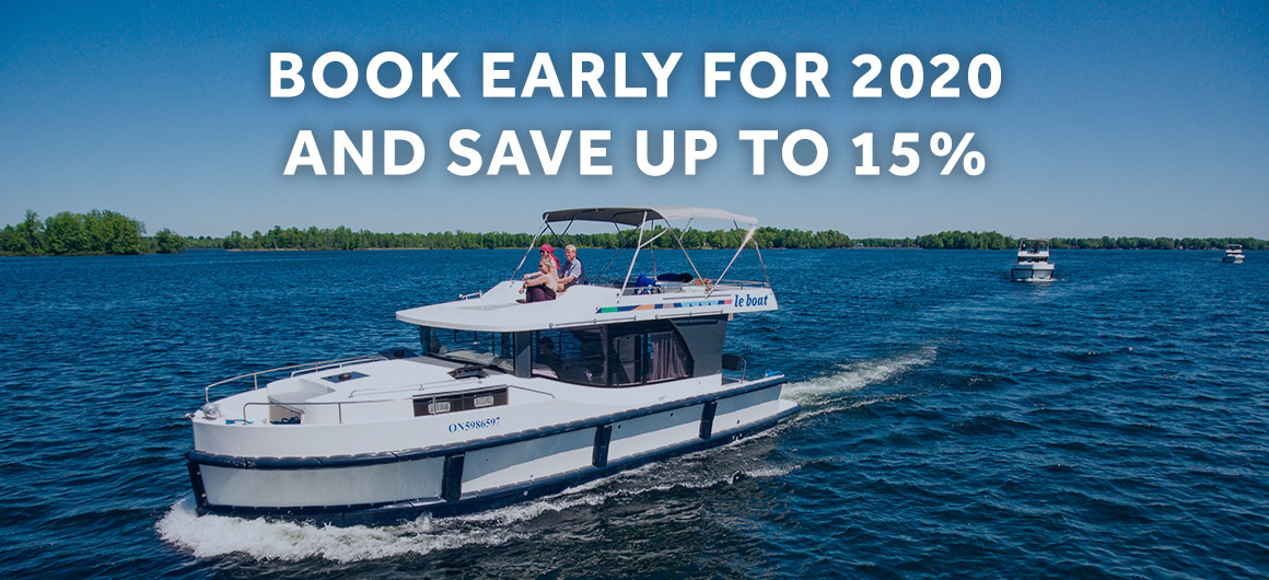 Up to 15 percent off Le Boat Cruises in 2020