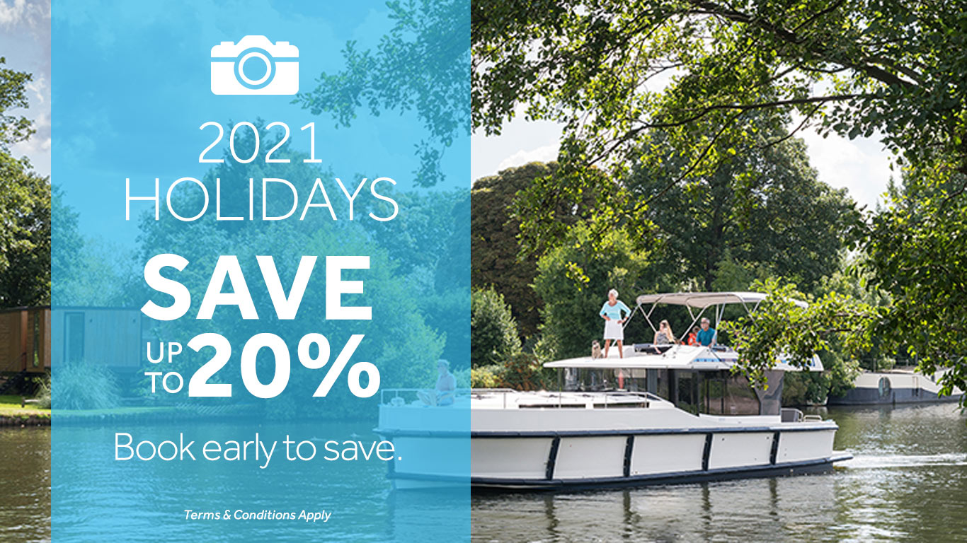 Le Boat - save up to 20% on River Cruises