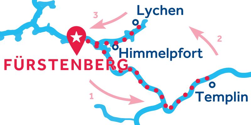 Fürstenberg RETURN via Templin