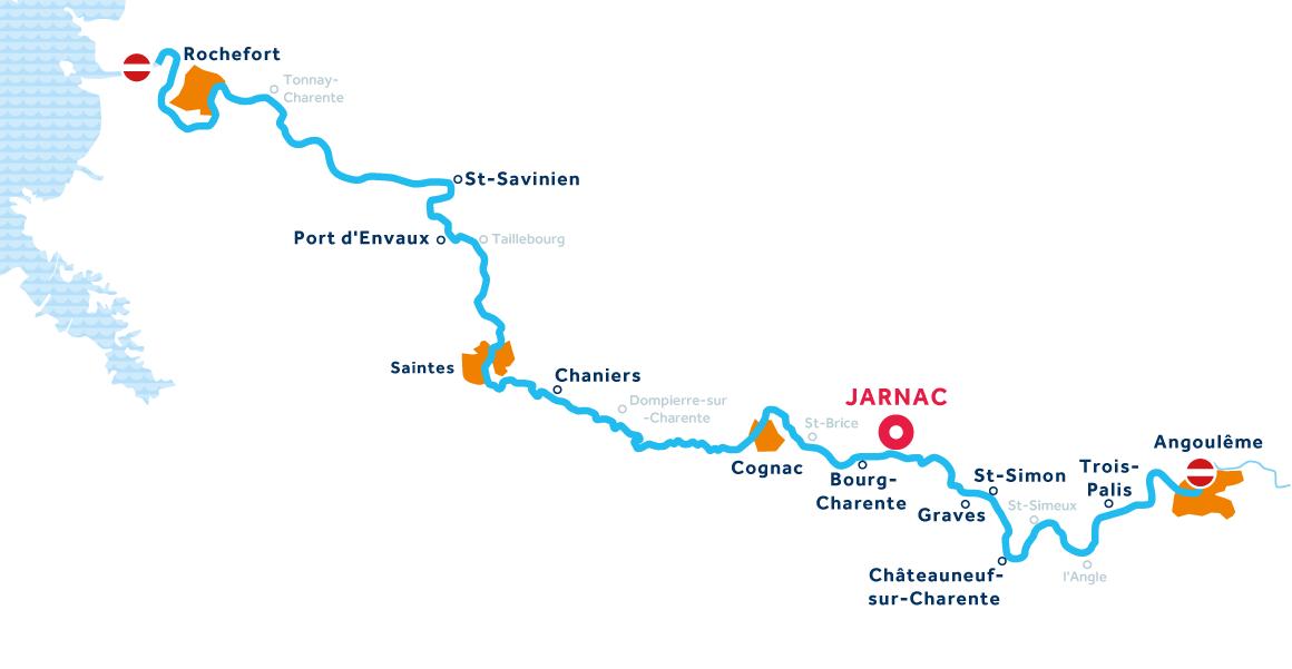 Carte: Charente