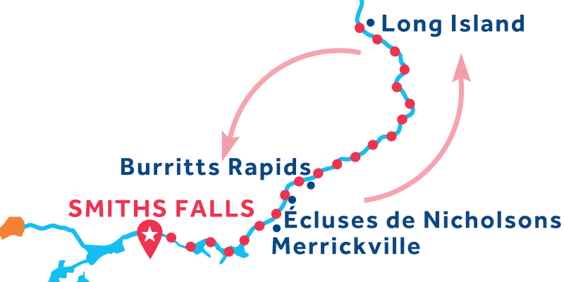 Smiths Falls RETURN via Long Island