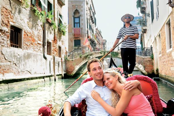 Venise, la ville la plus romantique du monde