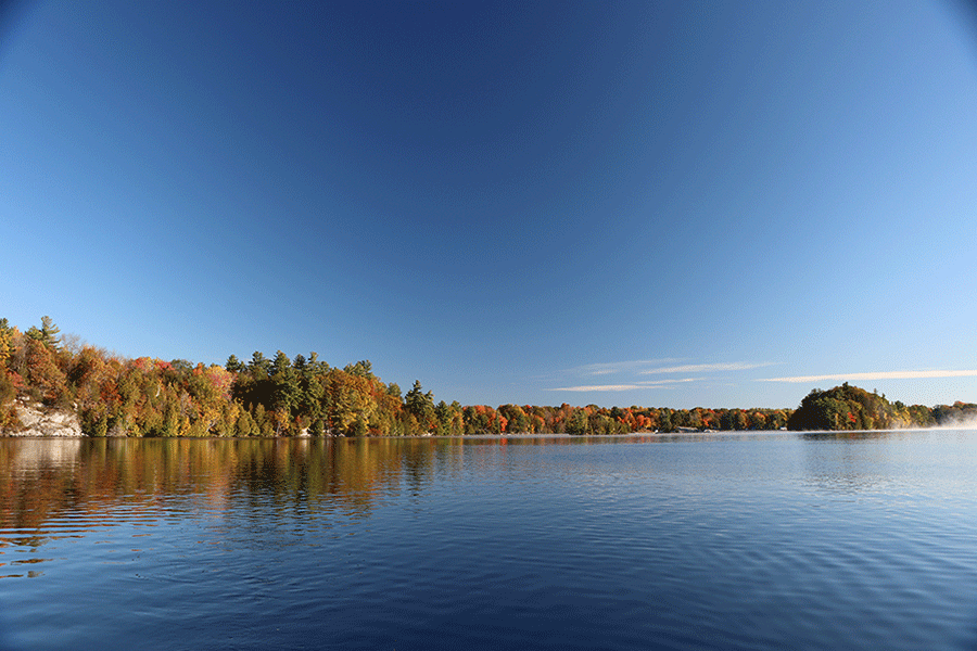 Sand Lake Rideau Canal