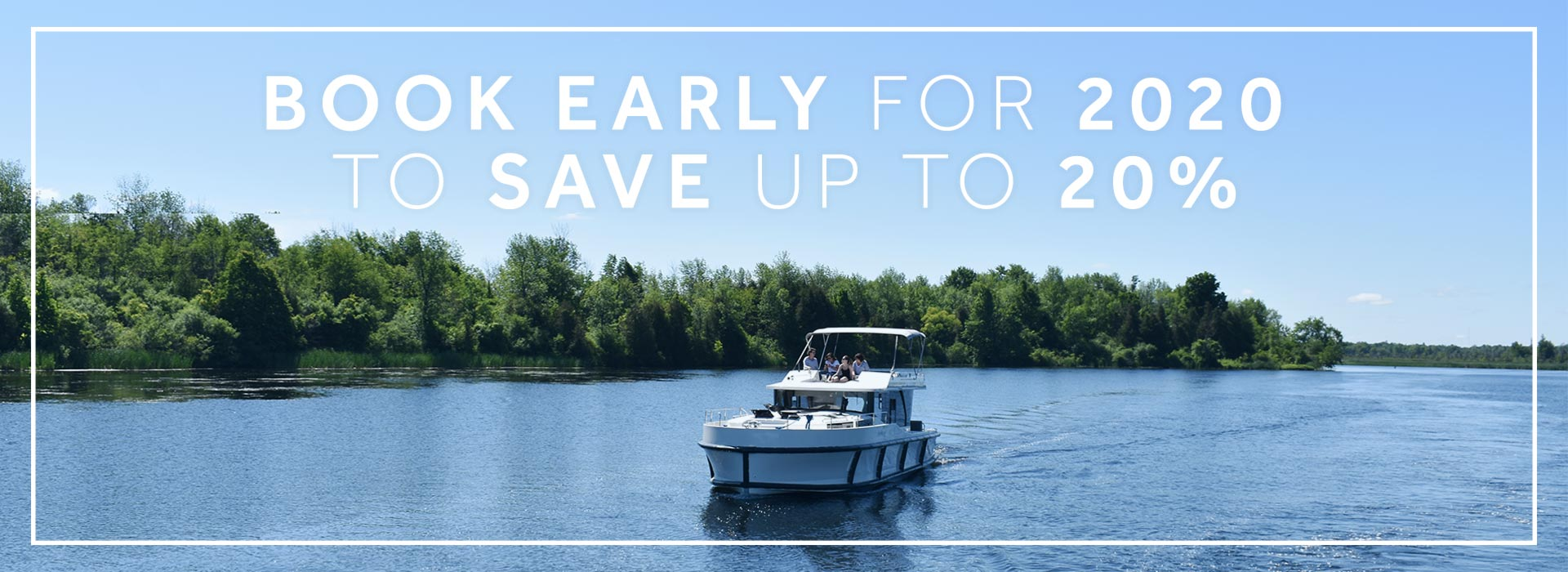 Le Boat - Book early for 2020 and save