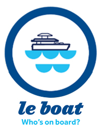 Le Boat luxury houseboat rentals in Ontario on the Rideau Canal