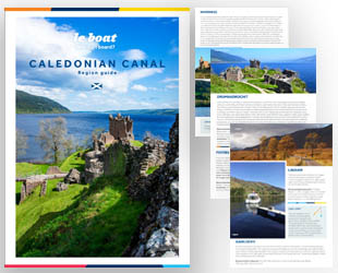 Click to view the Regional Guide for Le Boat's Scottish Cruise Vacations