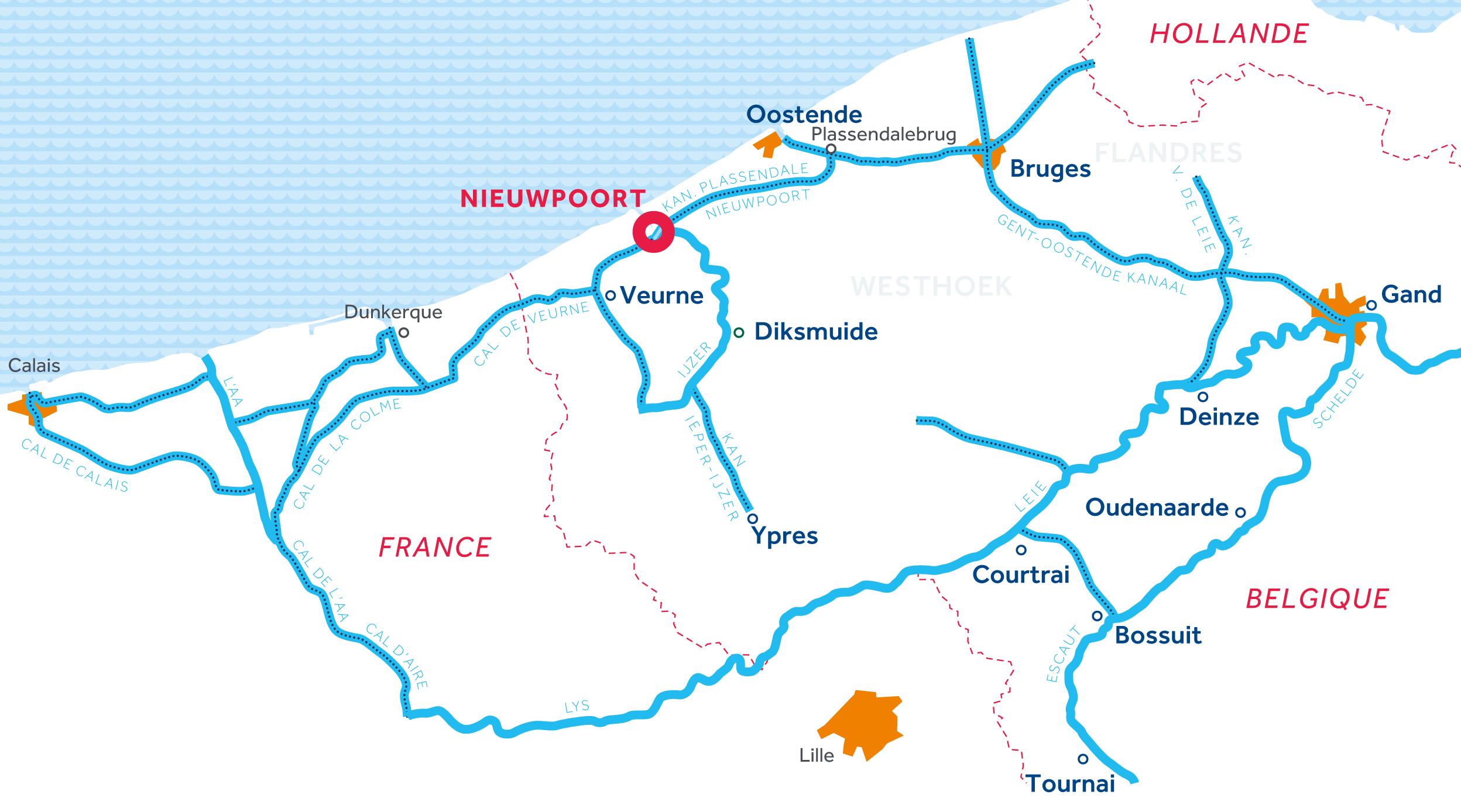 Carte: Flandre