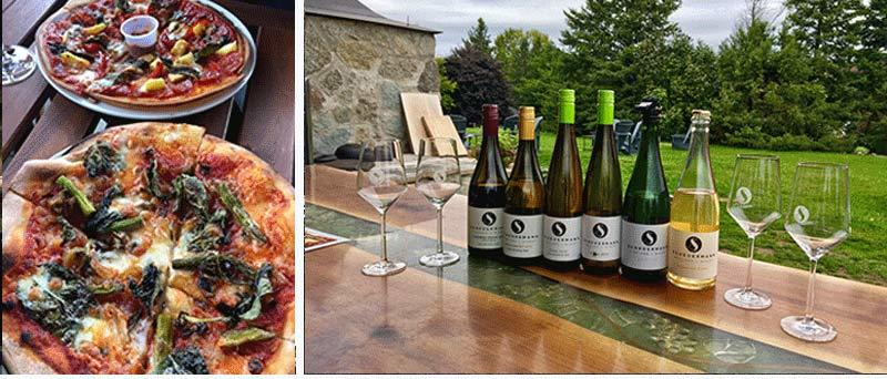 Winetasting at Scheuermann's Vineyard and Winery