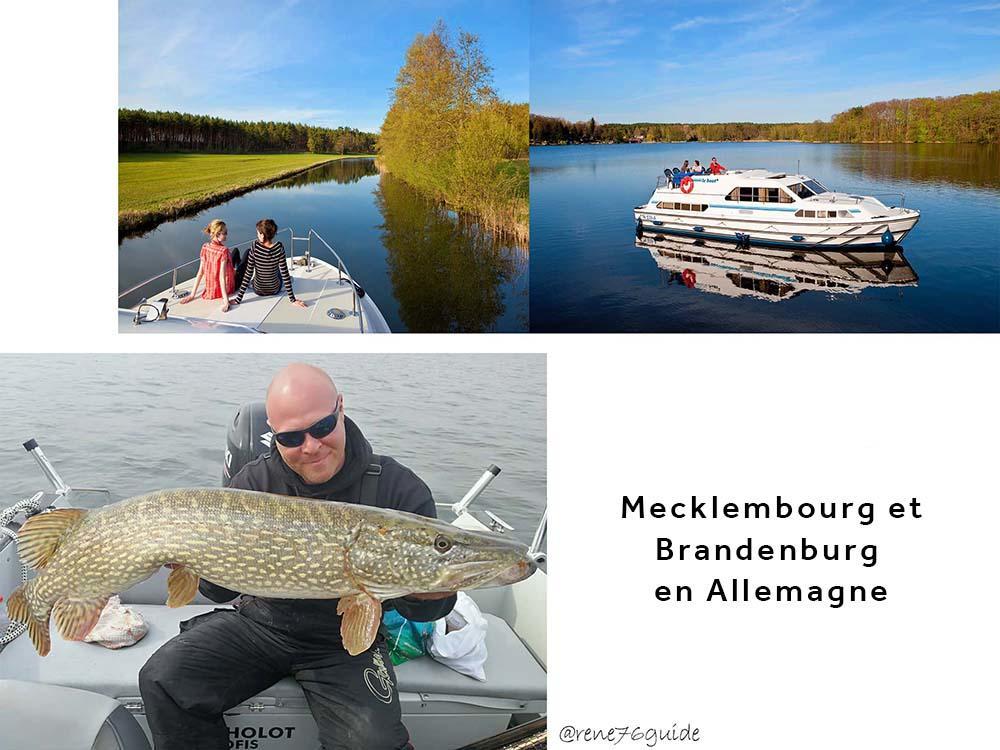 Le Mecklembourg et Brandenburg en Allemagne