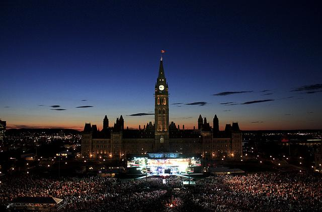 Photo Courtesy of Ottawa Tourism - Canada's Parliament Hill