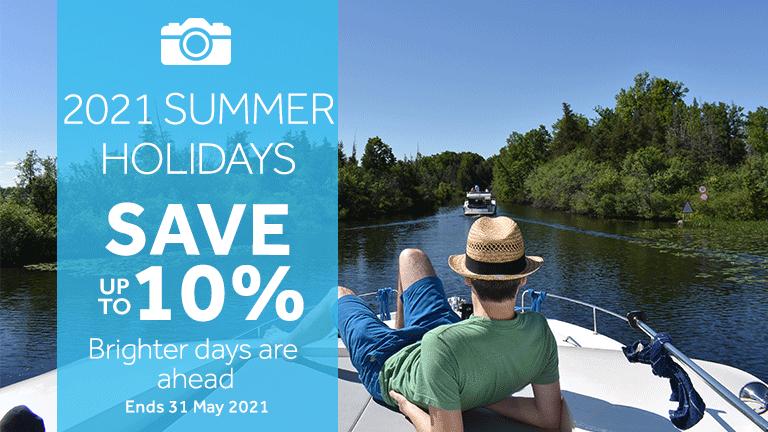 Le Boat - summer savings