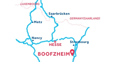 Boofzheim base location map