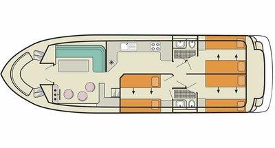 Plan du Calypso