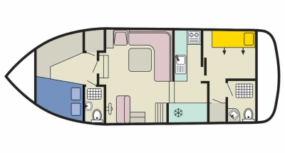 Plan de la Corvette B