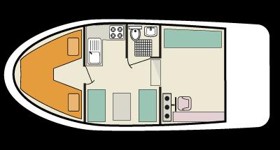 Cygnet WHS - plan de la cubierta