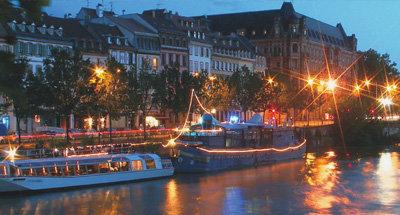 Bateaux de nuit en Aquitaine