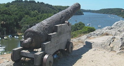 Cannon in Brittany