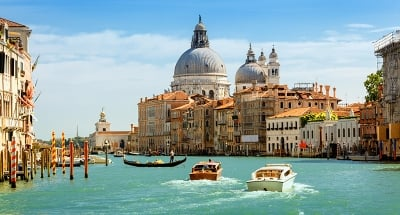 Historic canals of Venice