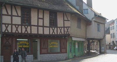 Maisons à colombages en Bourgogne