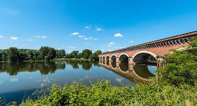 Pont historique à Nérac