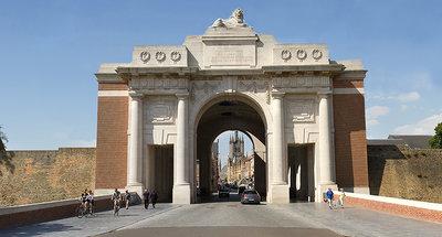 La Porte de Menin à Ypres
