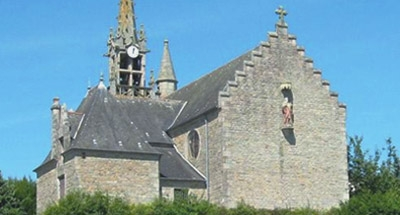 Old stone Breton Church