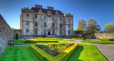 Portumna castle and gardens