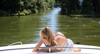 Se relaxer à bord en Allemagne
