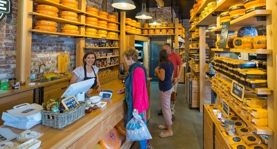 Cheese boutique in Edam