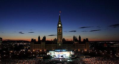 Photo Courtesy of Ottawa Tourism - Canada's Parliament Hill
