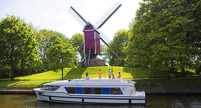 Navigation croisière fluviale