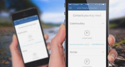 Application Le Boat - Aide et contacts