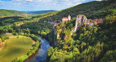 River Lot, France