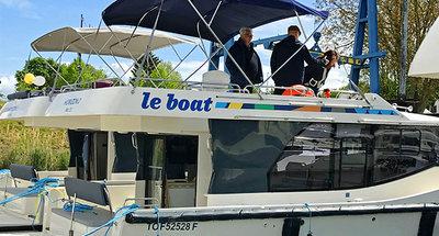 Visite des bateaux