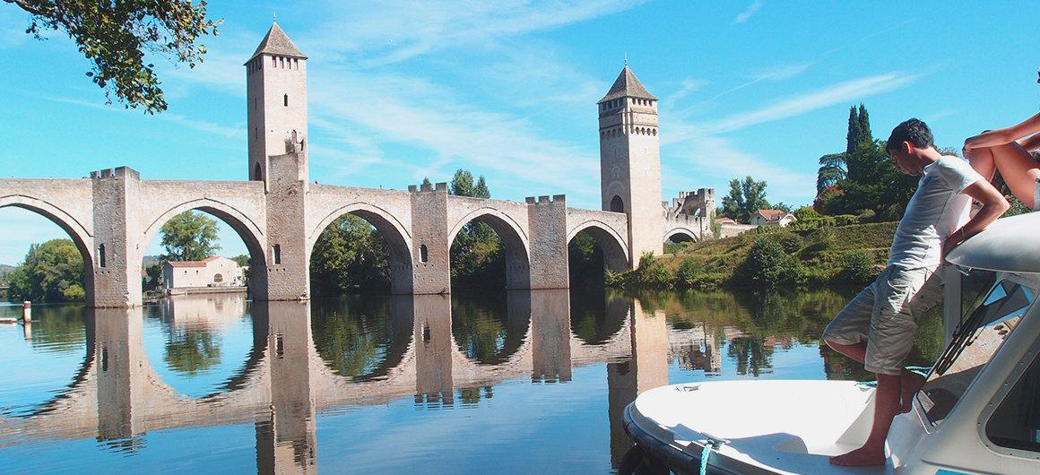 Le Pont Valentré dans le Lot