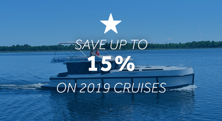 Save up to 15% with Le Boat's January Offers