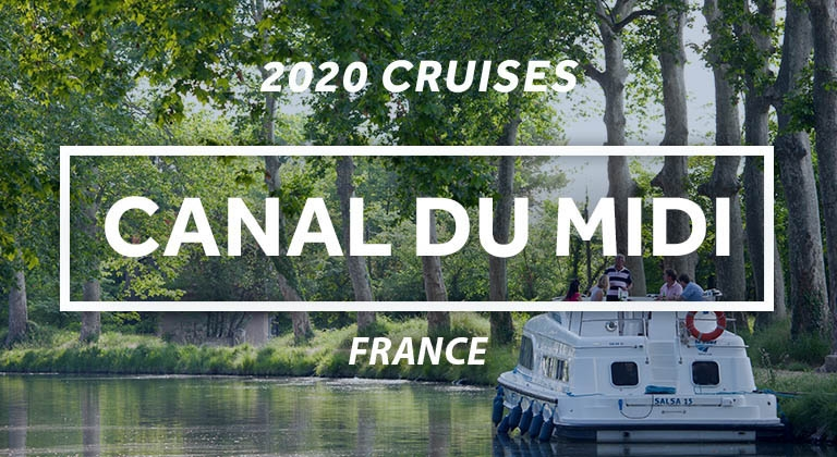 Save on a 2020 houseboat holiday on the Canal du Midi