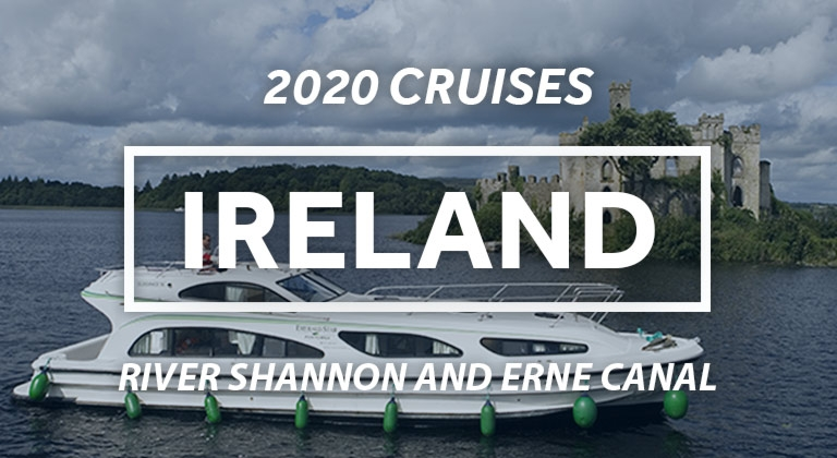 Cruise the lush green countryside of the River Shannon & Erne Canal in Ireland