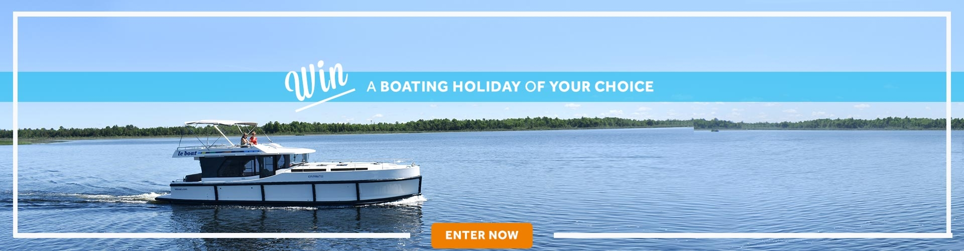 Le Boat - win a canal boat holiday