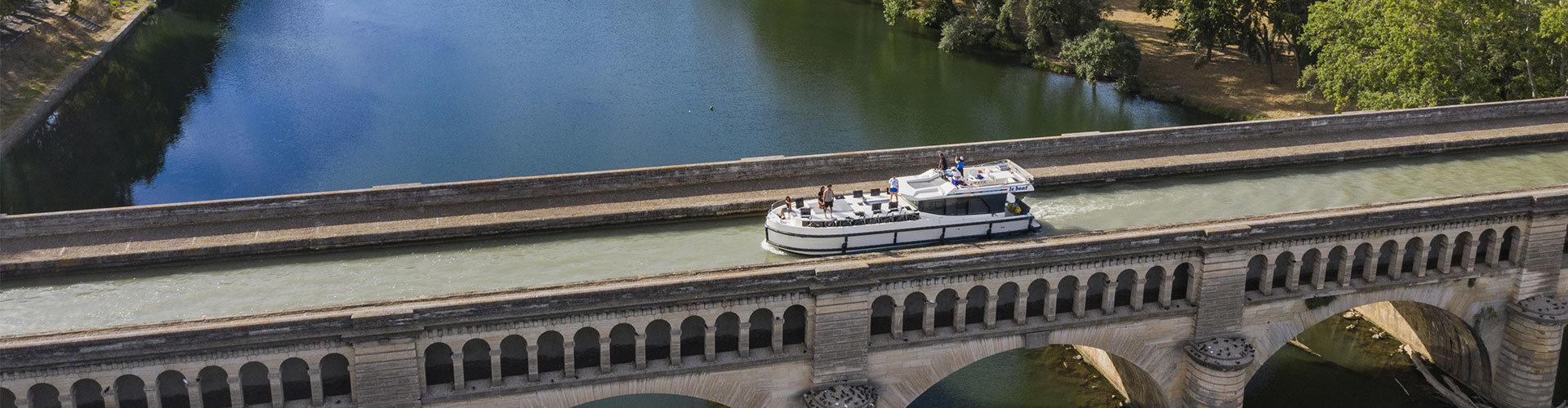 Location de péniche avec Le Boat
