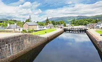 Caledonian Canal in Fort Augustus