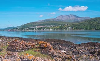 Fort William et Ben Nevis