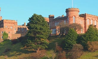 Inverness Castle in Inverness