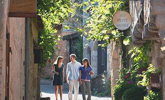 Les rues de Saint-Cirq-Lapopie